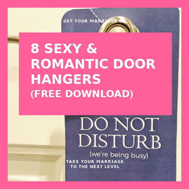 8 Sexy & Romantic Door Hangers – Free Download