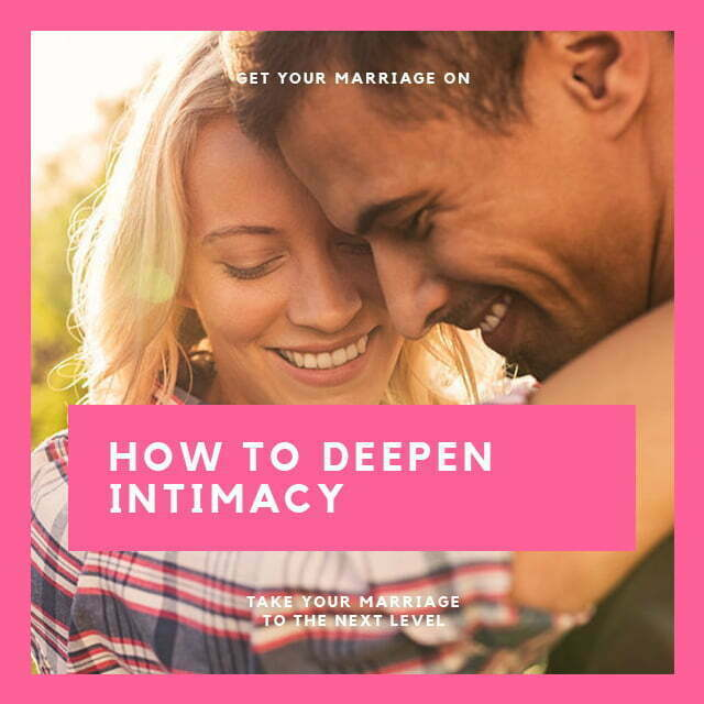 The Formula for Deeper Intimacy
